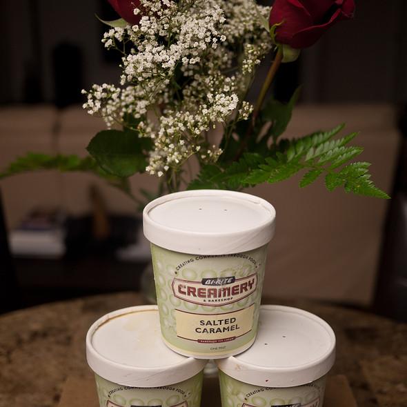Salted Caramel Ice Cream @ Bi-Rite Creamery