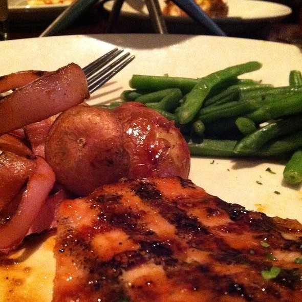 Maui Glazed Pork Chop @ BJ's Restaurant & Brewhouse