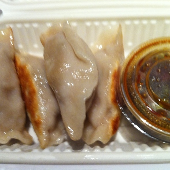 Seared Pork Dumpling @ FoodParc