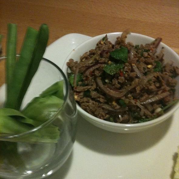 Beef Larb - Chantanee Thai Restaurant & Bar, Bellevue, WA
