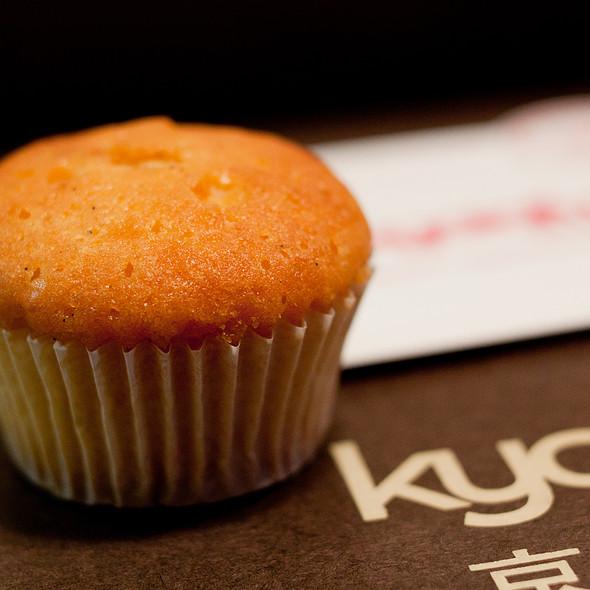 Yuzu-Vanilla Cupcake