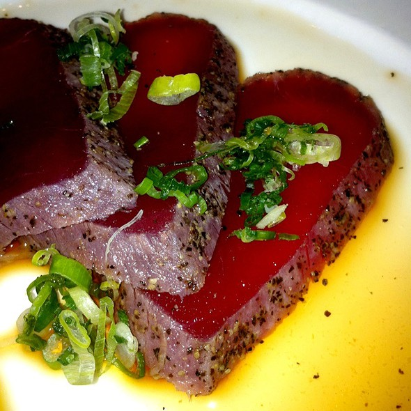 Big Eye Tuna Tataki - Nobu Fifty Seven, New York, NY