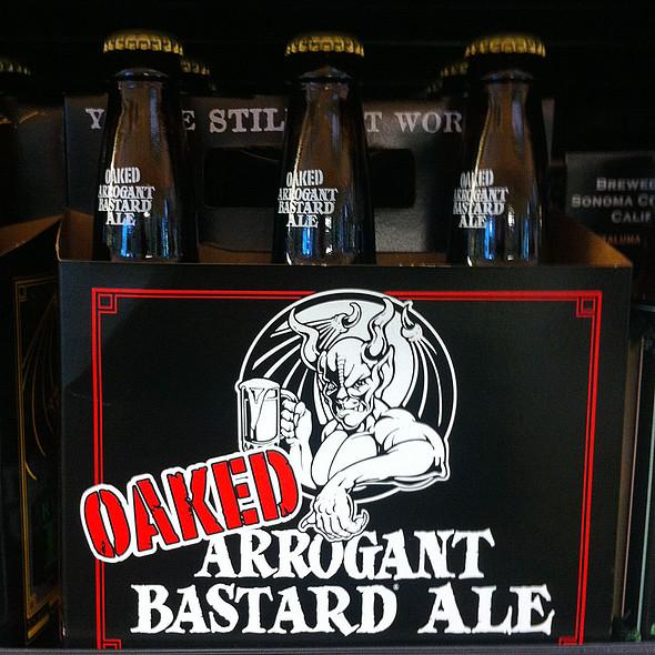 Oaked Arrogant Bastard Ale @ Sprouts