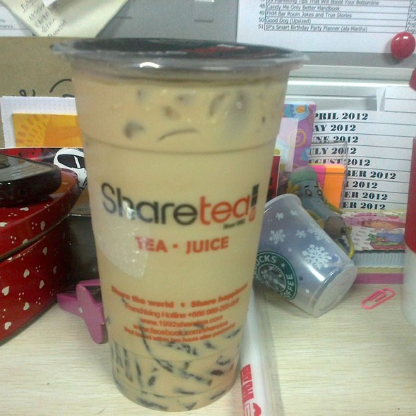 Okinawa Milk Tea @ Sharetea