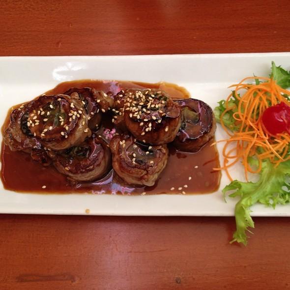 Beef Nagimaki @ Kabuki Japanese Restaurant