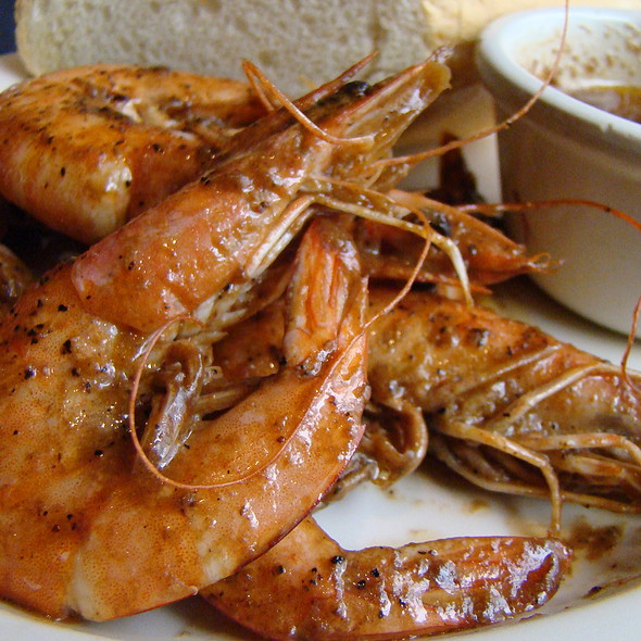 New Orleans Spicy Shrimp @ Joey D's Oak Room