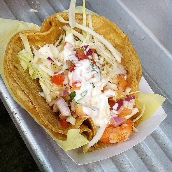 Taco De Camaron @ Mariscos German Taco Truck #3