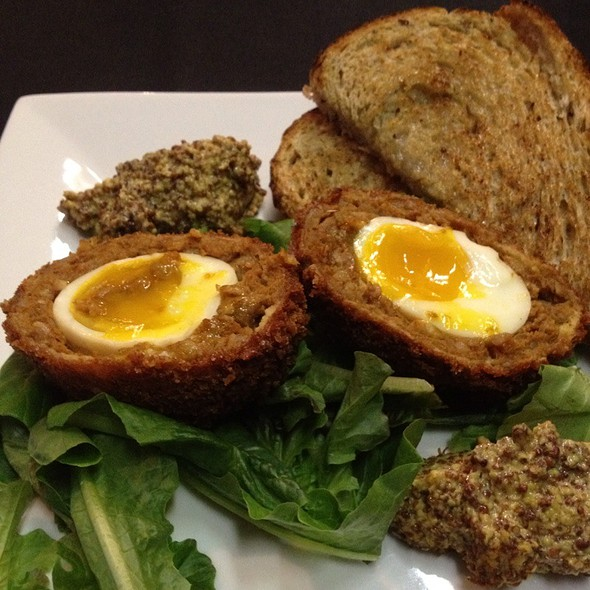 Scotch Eggs @ The Foodspotting Holiday Spotathon