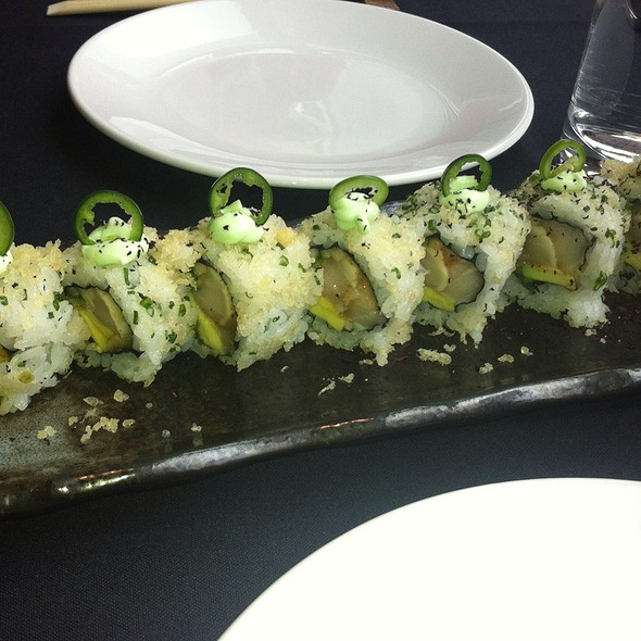Crispy Spicy Butterfish Roll @ Roka Akor Chicago