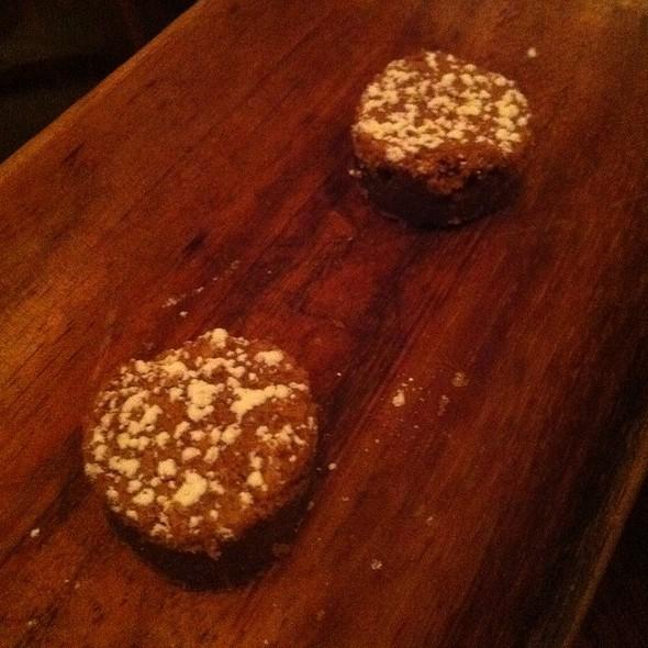 Chocolate Chip Dessert (Complimentary) - BLT Steak Atlanta, Atlanta, GA
