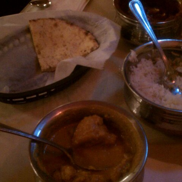 Chicken Korma @ masala bistro