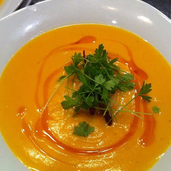 Butternut Squash Soup @ The Fat Tuscan Cafe