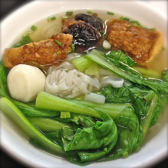 Hakka Yong Tau Foo Kway Teow Soup @ Mdm Ho Traditional Hakka Yong Tau Foo