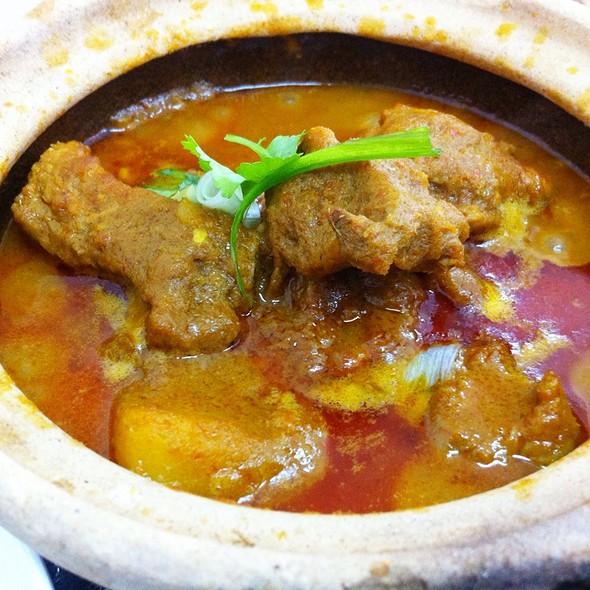 Curry Pork Ribs @ Restoran Xiong Kee