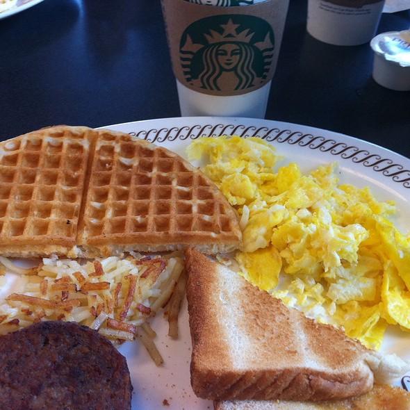 American Breakfast Platter @ The Waffle House