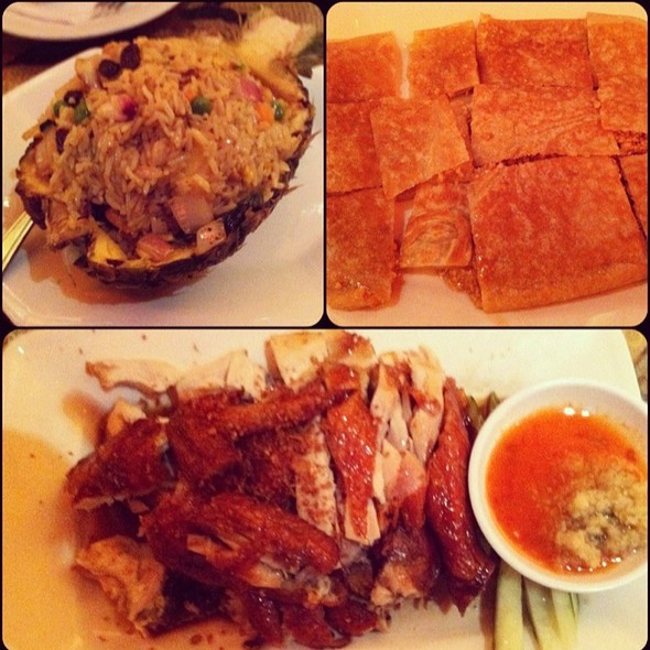 Pineapple Fried Rice, Crispy Chicken , Peanut Pancake @ Coco Restaurant