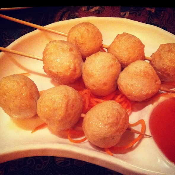 Fish Balls W Chili Sauce @ Coco Restaurant