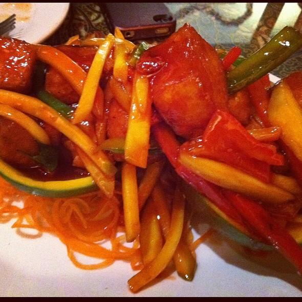 Mango Tofu @ Coco Restaurant
