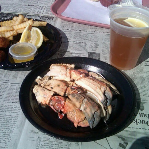 Stone Crab Claws @ Capt Kidd's Fish Market & Restaurant