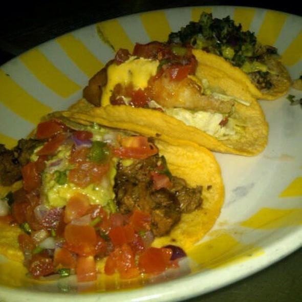 3 Taco Platter @ Border Grill Downtown LA