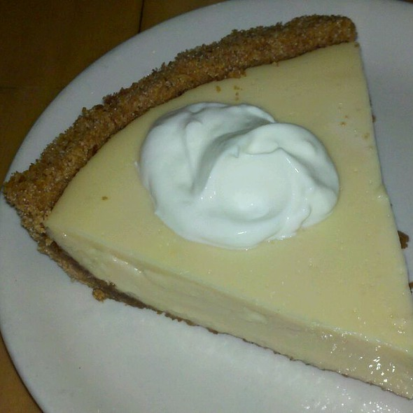 Key Lime Pie @ Percy Street Barbecue