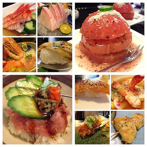 for one. oh nom nom nom!  porn  #igerstaiwan #taichung #taiwan #sydneycommunity #nom #japanese #sushi #sashimi #m2012triphome @ 明園日本料理