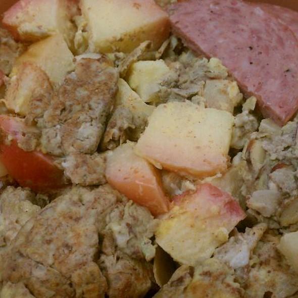 Scrambled Eggs & Apples @ Work Breakfast