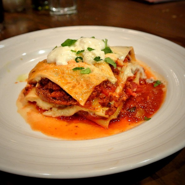 lasagna - Emeril's Italian Table at the Sands Casino Resort Bethlehem, Bethlehem, PA
