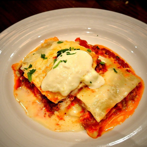 Homemade Lasagna - Emeril's Italian Table at the Sands Casino Resort Bethlehem, Bethlehem, PA
