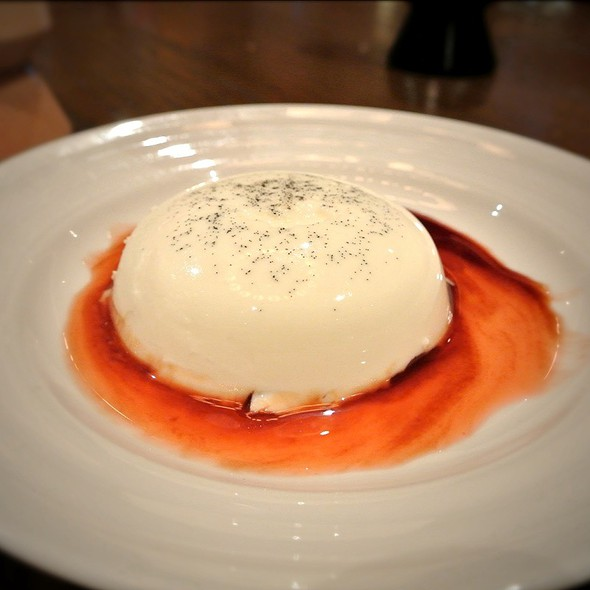 Panna Cotta - Emeril's Italian Table at the Sands Casino Resort Bethlehem, Bethlehem, PA