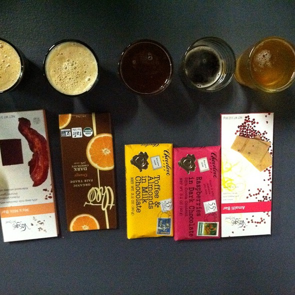 Beer And Chocolate Pairing @ Wit's End Brewing Company