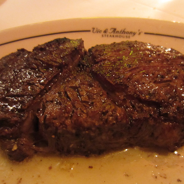 Prime Ribeye - Vic & Anthony's Steakhouse - Houston, Houston, TX
