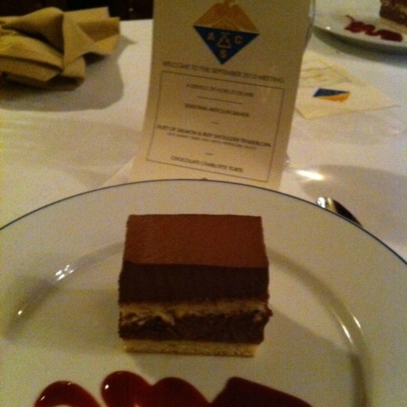 Chocolate Mousse Cake - The Refectory Restaurant & Bistro, Columbus, OH