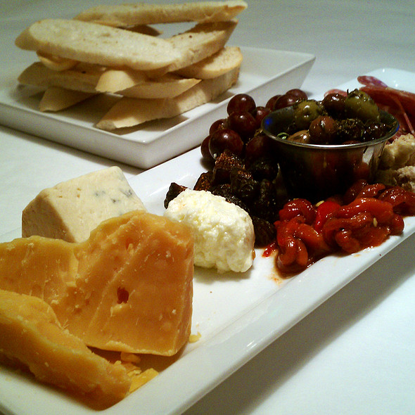 Cheese and charcuterie plate @ Park Square Cellar