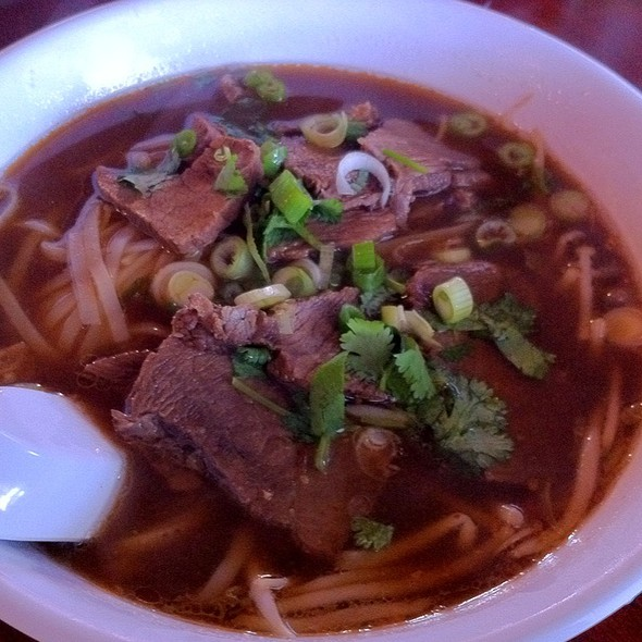 Beef Tendon Noodle Soup @ Thai Bay