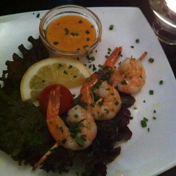 Shrimp Skewers @ Rock 'n Sushi