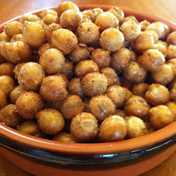 Zahtar Crisp Chick Peas @ Home
