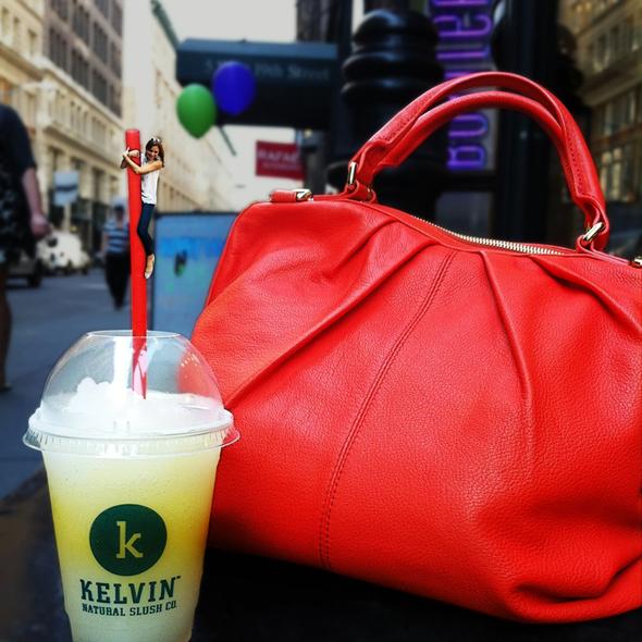 Ginger and Caramelized Pineapple Slush @ Kelvin Natural Slush Company