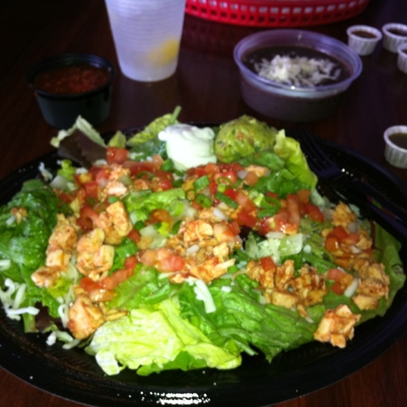 Chicken Salad @ Tijuana Flats