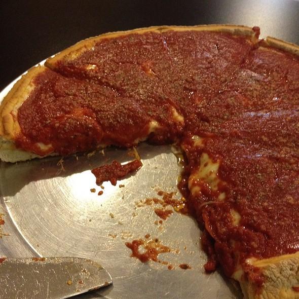Deep Dish Pepperoni Pizza @ Vito's Pizza