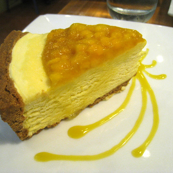 Mango Cheesecake @ Conti's Pastry Shop & Restaurant