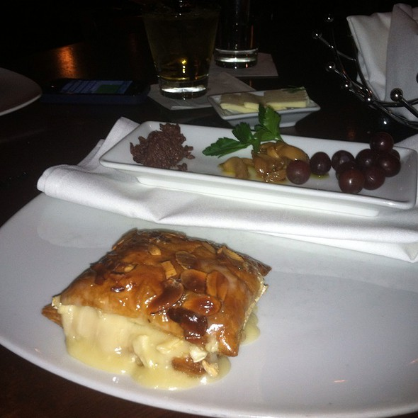 Baked Brie Appetizer @ Koberl At Blue