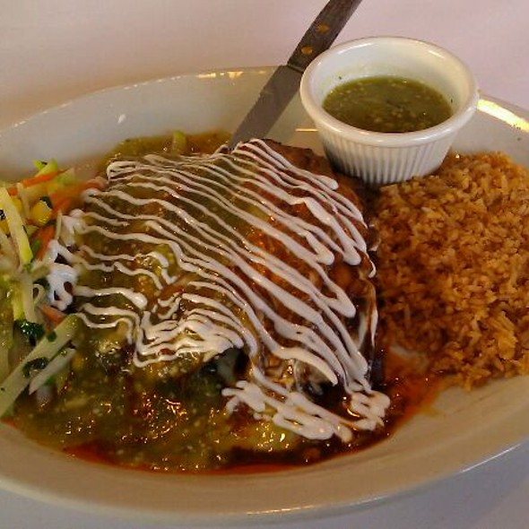 Enchilada @ Wholly Frijoles