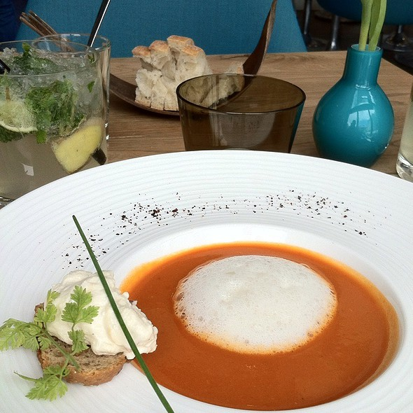 Tomato And Tonka Bean Soup @ Salt