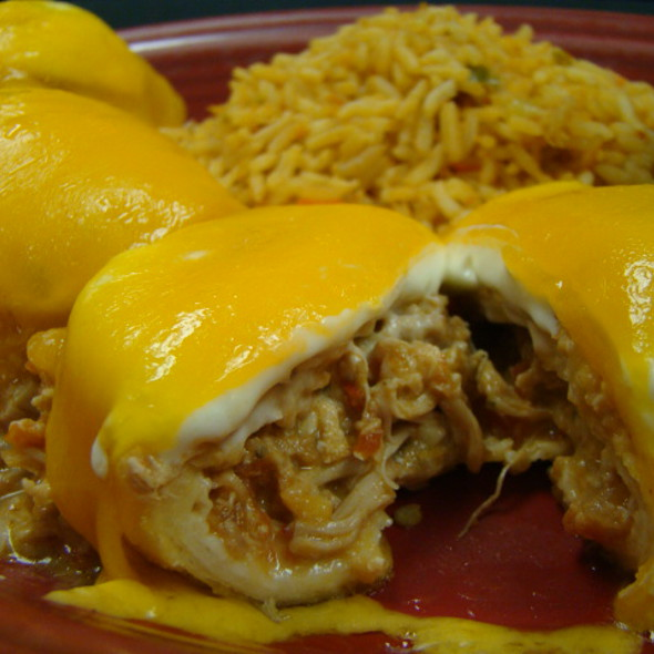 Pollo Fundido @ Fiesta del Burro Loco