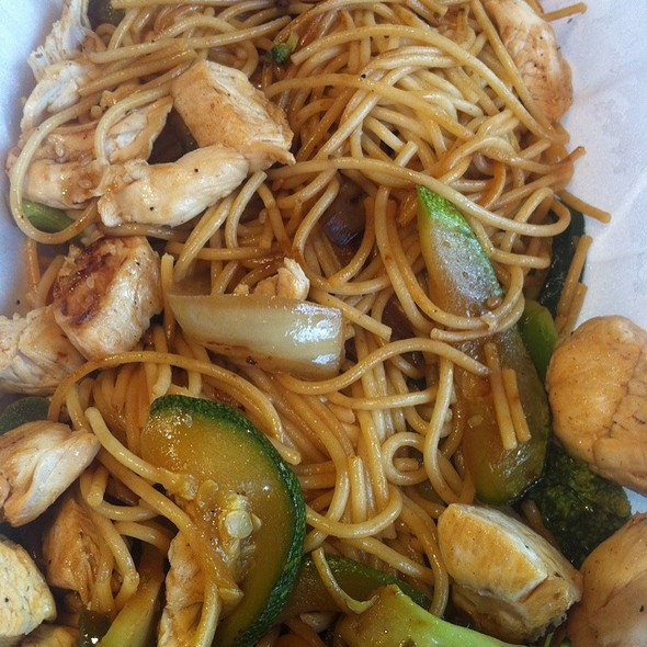 Chicken Stir Fry With Noodles  @ The Skinny Chef Inc