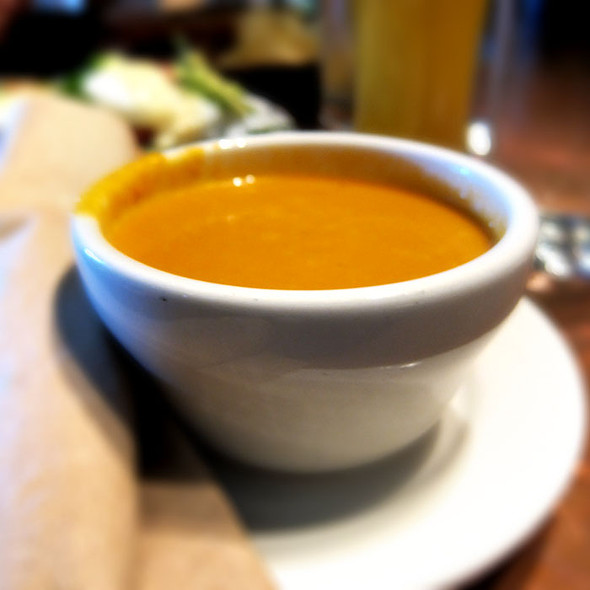 Tomato Basil Soup @ Grove Cafe