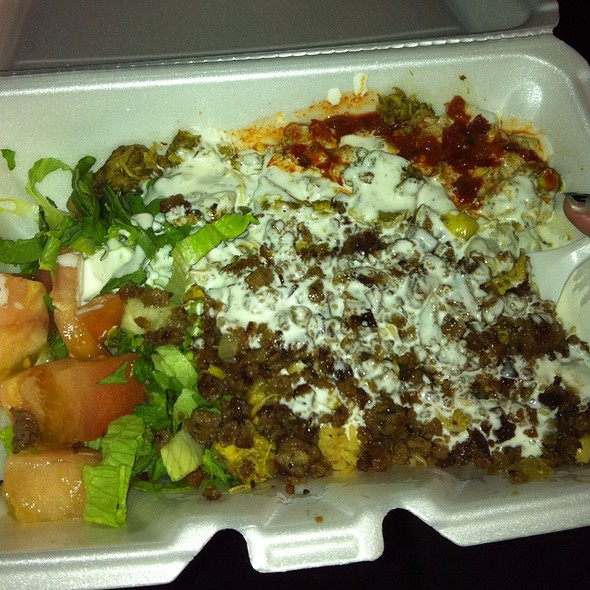 Halal Chicken Over Rice @ Halal Guys