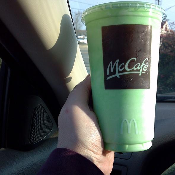 Shamrock Shake @ McDonald's
