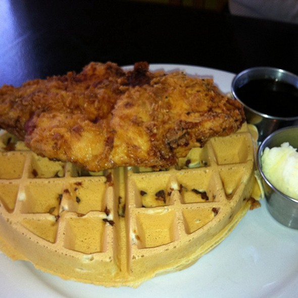 Fried Chicken And Bacon Waffles @ Bacon